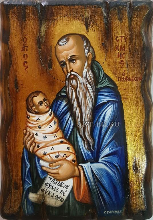 Икона на Свети Стилян