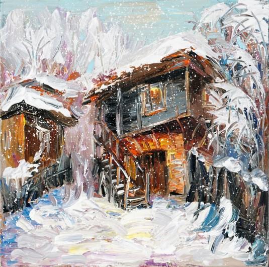 Старата къща през зимата A0001