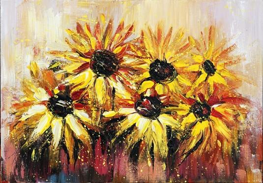 Слънчеви цветя A0002