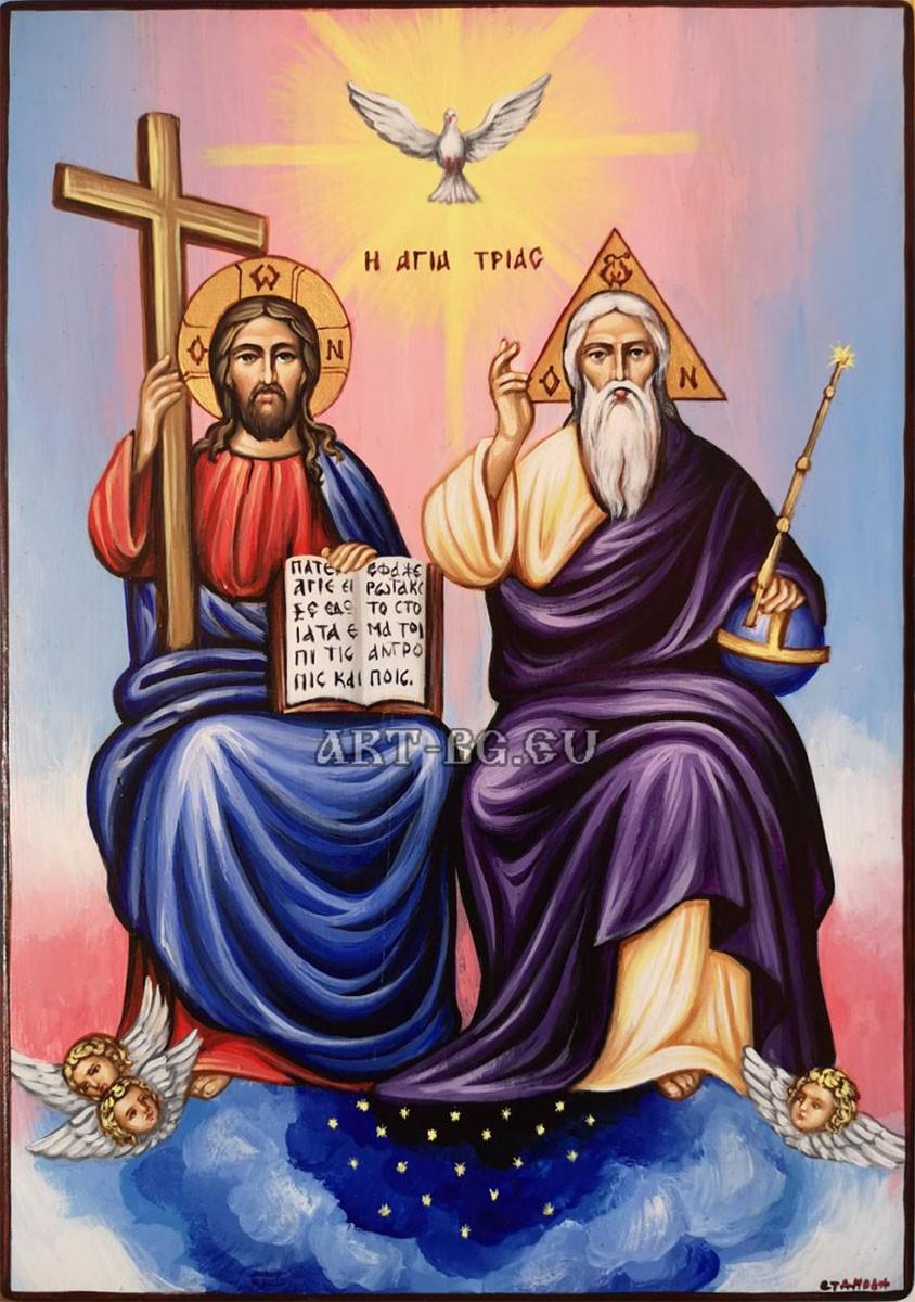 Икона на Света Троица