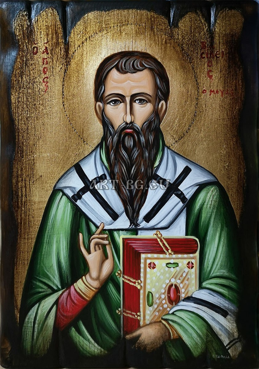 Икона на Свети Василий