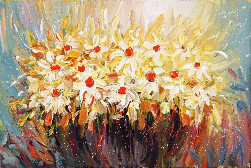 Жълти цветя A0003
